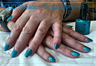 CND Shellac Lost Labyrinth Creations Beauty