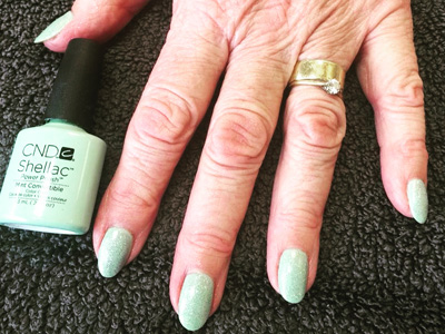 CND Shellac Mint Convertible Creations Beauty