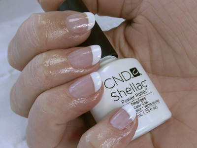 CND Shellac Negligee Creations Beauty