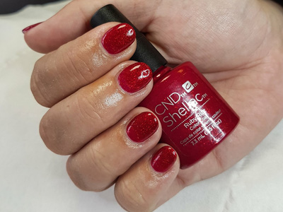 CND Shellac Ruby Ritz Creations Beauty